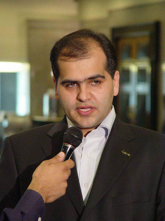 تصویری از شهرام در دومین کنفرانس بازاریابی