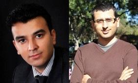 دکتر اسماعیل آتشپز گرگری (راست) و دکتر سیدمصطفی کلامی هریس (چپ) – بنیانگذاران فرادرس