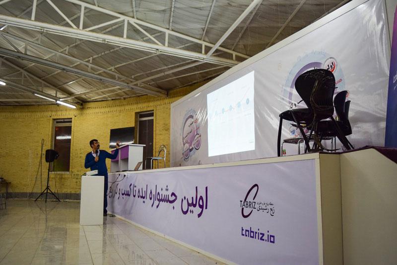 ارائه فرید دهقان در اولین جشنواره ایده تا کسب و کار