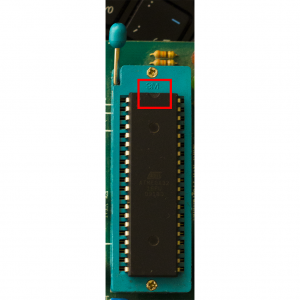 قراردهی صحیح میکروکنترلر AVR بر روی سوکت