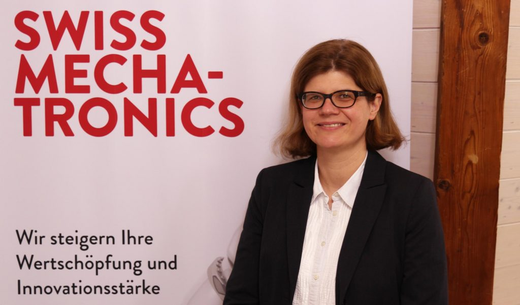 KATHRIN HOPKINS, SWISS MECHATRONICS