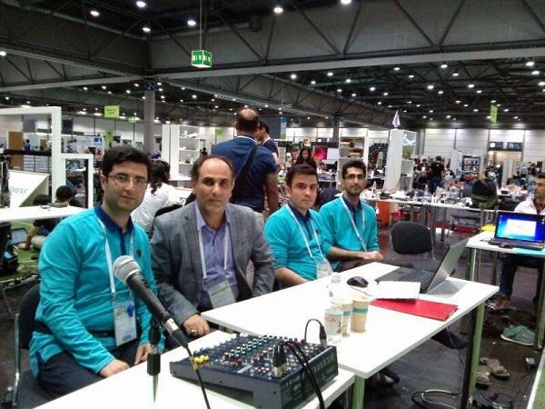 تیم رباتیک دانشگاه ایلخچی