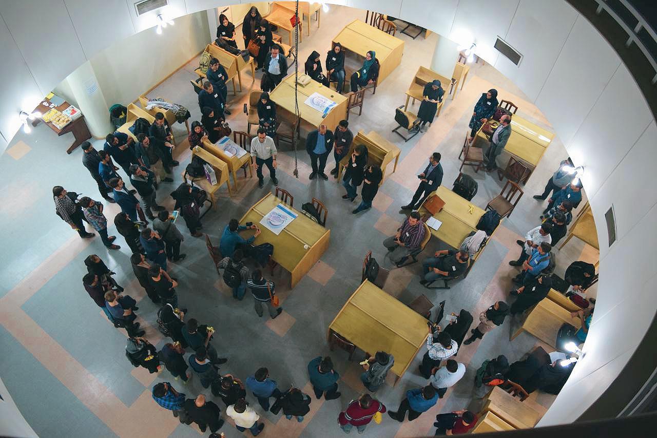 اولین همفکر تبریز در کتابخانه دانشگاه علوم پزشکی