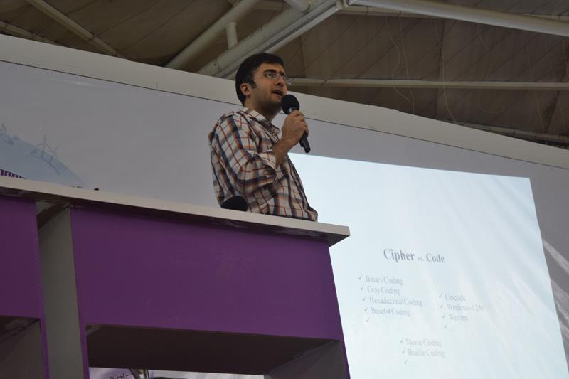 ارائه مسعود اقدسی فام در اولین جشنواره ایده تا کسب و کار