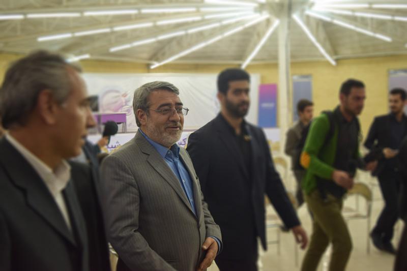حضور وزیر کشور در محل برگزاری اولین جشنواره ایده تا کسب و کار