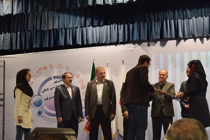 جایگاه سوم مشترک علی داداشی و هانیه قصابزاده در اولین جشنواره ایده تا کسب و کار
