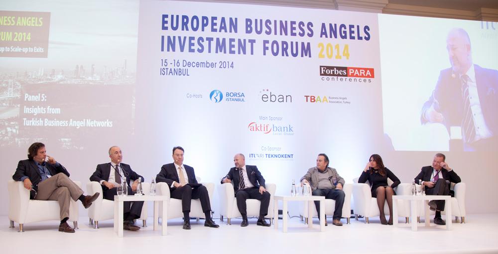 مدیران و موسسان شبکههای فرشتگان کسب و کار BUBA، Galata Business Angels، BIC Angels و چند تن از فرشتگان سرمایه گذار ترکیه در نشست European Business Angels Investment Forum در ۲۰۱۴