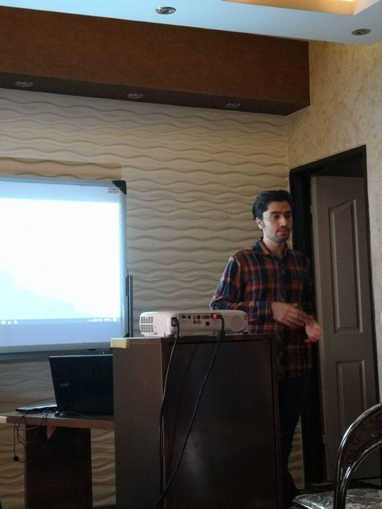 حامد قلیزاده - جلسه پنچم جلسات باز نرمافزاری