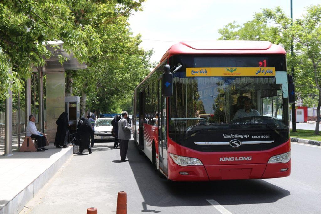 ناوگان اتوبوسرانی تبریز